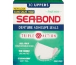 Sea Bond Upper Denture Adhesive Wafers Fresh Mint