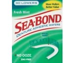 Sea Bond Lower Denture Adhesive Wafers Fresh Mint