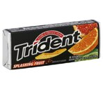 Trident Splasing Fruit Sugarfree Gum