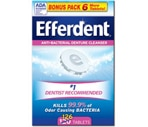 Efferdent Denture Cleanser Tablets