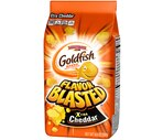 Pepperidge Farm Flavor Blasted Goldfish Xtra Cheddar Baked Snack Crackers