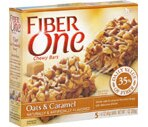 Fiber One Oats & Caramel Chewy Bars