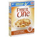 Fiber One Cereal Caramel Delight
