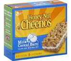 General Mills Milk 'n Cereal Bars Honey Nut Cheerios