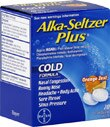 Alka-Seltzer Plus Cold Effervescent Tablets Orange Zest