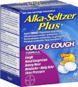Alka-Seltzer Plus Cold & Cough Tablets Citrus