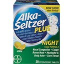 Alka-Seltzer Plus Maximum Strength Night Cold Formula Tablets