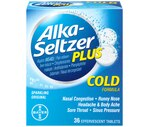 Alka-Seltzer Plus Cold Effervescent Tablets Sparkling Original