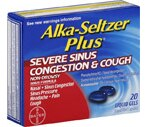 Alka-Seltzer Plus Severe Sinus Congestion & Cough Liquid Gels