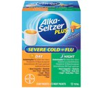 Alka-Seltzer Plus Day + Night Cold, Cough & Flu Packets