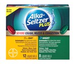 Alka-Seltzer Plus Day & Night Severe Cough, Mucus + Congestion Liquid Gels