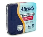 Attends Underwear XL, Super Plus Absorbency (58-68 Inches) Case