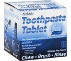 Archtek - Tableta de pasta dental, Cool Mint