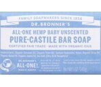 Dr. Bronner's Magic Soaps Unscented Baby-Mild Pure-Castile Bar Soap