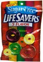 Life Savers Hard Candy Sugar Free Five Flavor