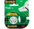 Scotch Magic Tape, 1/2 Inch