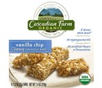 Cascadian Farm Organic Vanilla Chip Chewy Granola Bars 6-Pack