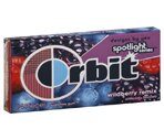 Orbit Sugarfree Gum Wildberry Remix