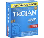Trojan-Enz Spermicidal Lubricant Latex Condoms