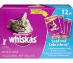 Whiskas Food For Cats Variety Pack 12- 3 Oz
