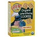 Earth's Best Organic Letter Of The Day Very Vanilla Sesame Street Cookies