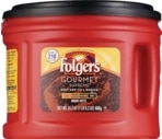 Folgers Gourmet Supreme Dark Ground	Coffee