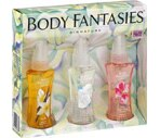 Body Fantasies Fragrance Body Spray, Vanilla, Fresh White Musk & Pink Sweet Pea
