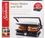 Sunbeam Panini Maker and Grill