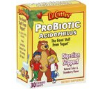 L'il Critters Probiotic Acidophilus Strawberry Tablets