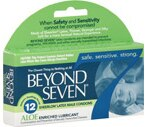 Beyond Seven Sheerlon Latex Aloe Condoms