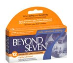 Beyond Seven Sheerlon Latex Condoms Lightly Lubricated