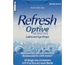 Allergan Optive Sensitive Lubricant Eye Drops Preservative-Free