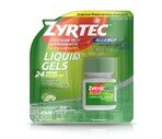 Zyrtec Allergy Original Prescription Strength Liquid Gels 10mg