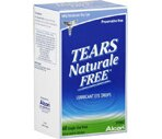 Tears Naturale Free Lubricant Eye Drops Single Use Vials