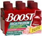 Boost High Protein Nutritional Energy Drinks Strawberry Case