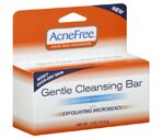 AcneFree Clear Skin Treatments Gentle Cleansing Bar with Exfoliating Microbeads