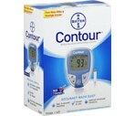 Bayer Contour Blood Glucose Monitoring System 7151H
