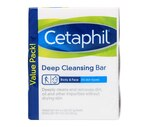 Cetaphil Gentle Cleansing Antibacterial Bar for Dry, Sensitive Skin