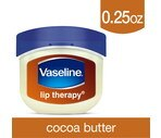 Vaseline Lip Therapy for Soft, Glowing Lips, Cocoa Butter