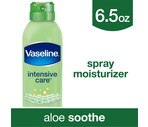 Vaseline Spray & Go Moisturizer, Aloe Fresh