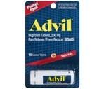 Advil Ibprofen Tablets 200 mg Pocket Pack