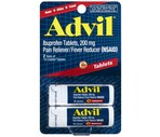 Advil Ibuprofen Tablets, 200mg Travel Size