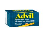 Advil Ibprofen Tablets 200 mg