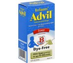 Advil Infants' Fever Concentrated Drops White Grape Flavored