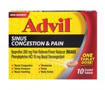 Advil Congestion Relief Tablets