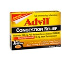 Advil Congestion Relief Tablets, 3 Packs of 20CT (Total 60CT)