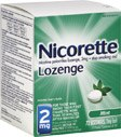 Nicorette Lozenges 2 Mg Mint Flavor