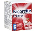 Nicorette Lozenges 2 Mg Cherry Flavor