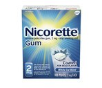 Nicorette 2 Mg  White Ice Mint