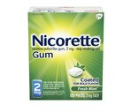 Nicorette 2 Mg Fresh Mint